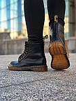 Зимние ботинки Dr. Martens (черные) - Унисекс, фото 8