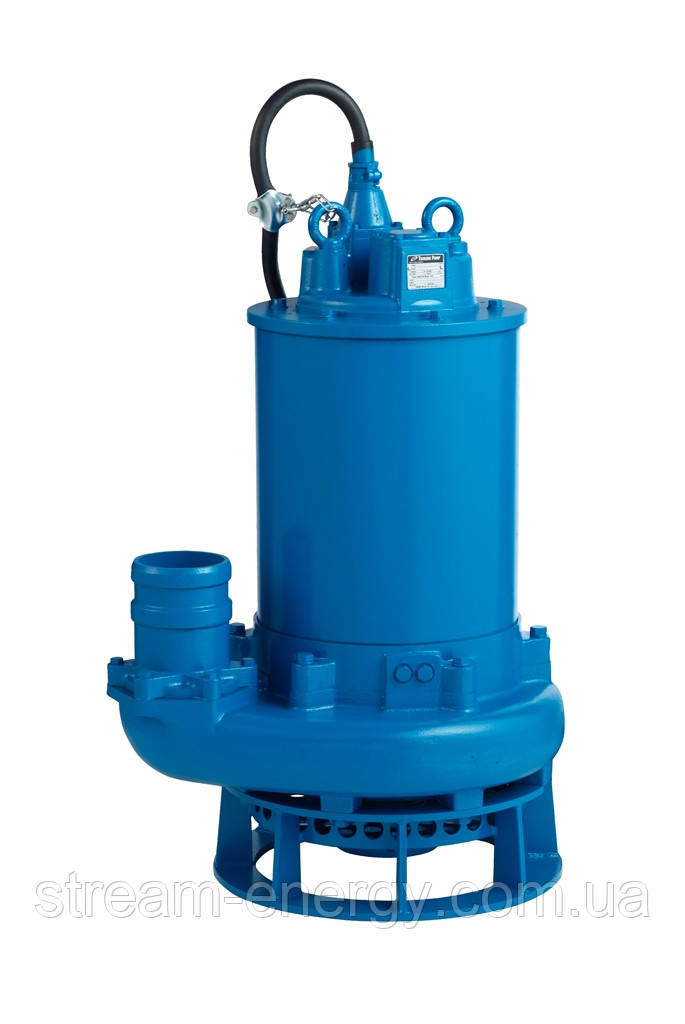 Шламовый насос Tsurumi Pump GPN622 (до 300м3/час, частицы до 30мм, РК открытого типа, с агитатором)