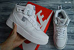 Мужские зимние кроссовки Nike Air Force 1 LV8 High (белые), фото 4