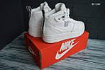 Мужские зимние кроссовки Nike Air Force 1 LV8 High (белые), фото 5