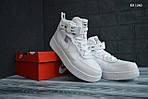 Мужские зимние кроссовки Nike Air Force 1 LV8 High (белые), фото 7