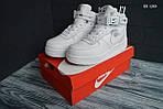 Мужские зимние кроссовки Nike Air Force 1 LV8 High (белые), фото 8