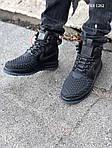 Мужские кроссовки Nike LF1 Duckboot '17 (черные), фото 8