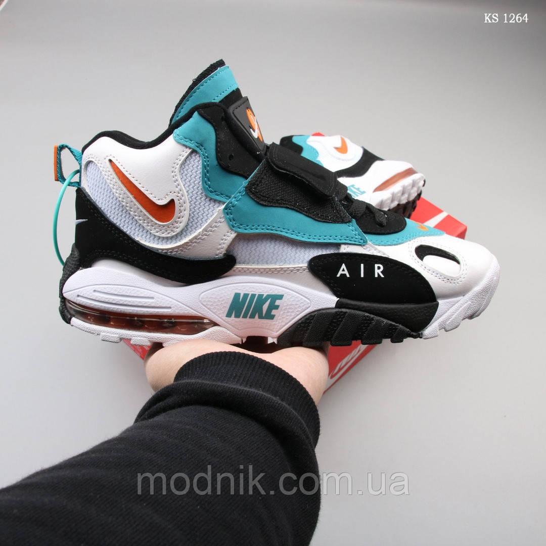 Мужские кроссовки Nike Sportswear Air Max Speed Turf (бело/бирюзовые)