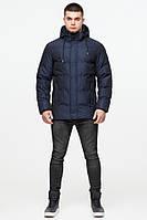 Зимняя куртка молодежная Braggart Youth - 25180 темно-синяя