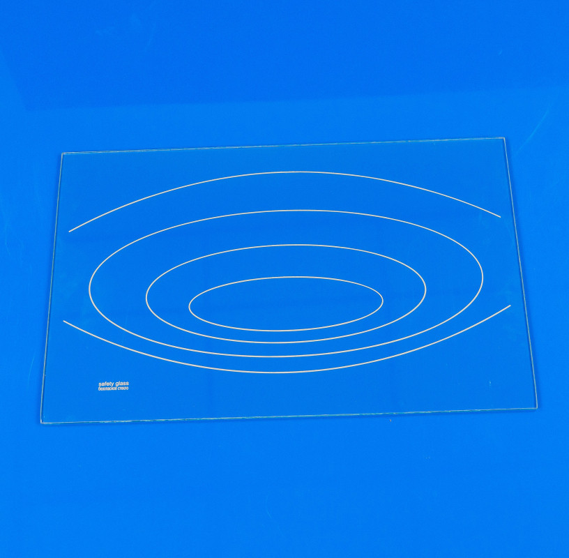 Полка стеклянная для холодильника NORD 494х310 мм