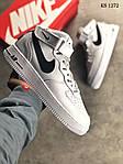 Мужские кроссовки Nike Air Force AF 1 High (бело/черные), фото 7