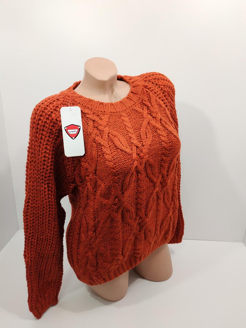 Вязаные женские свитера оптом и в розницу 2014
