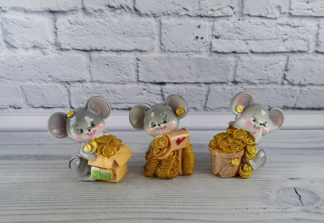 Статуэтка Копилка Мышка 92328-PN 99326 Китай