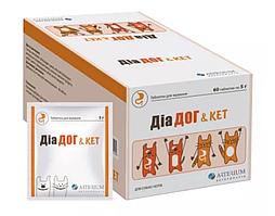 Диа Дог & Keт 1таблетка от диареи для собак и кошек