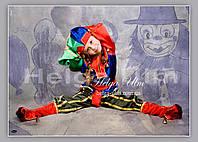 """Карнавальний, новорічний костюм """"Блазень"""", """"Скоморох"""" - ПРОКАТ по Україні, фото 1"""