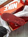 Мужские демисезонные кроссовки Nike Air Force Hight Urban Utility FTWR (белые), фото 3