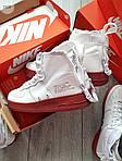 Мужские демисезонные кроссовки Nike Air Force Hight Urban Utility FTWR (белые), фото 6