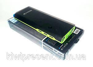Повербанк / Power bank NEEKA NK-657 на 11200 мАч  с индикатором ёмкости и фонариками.