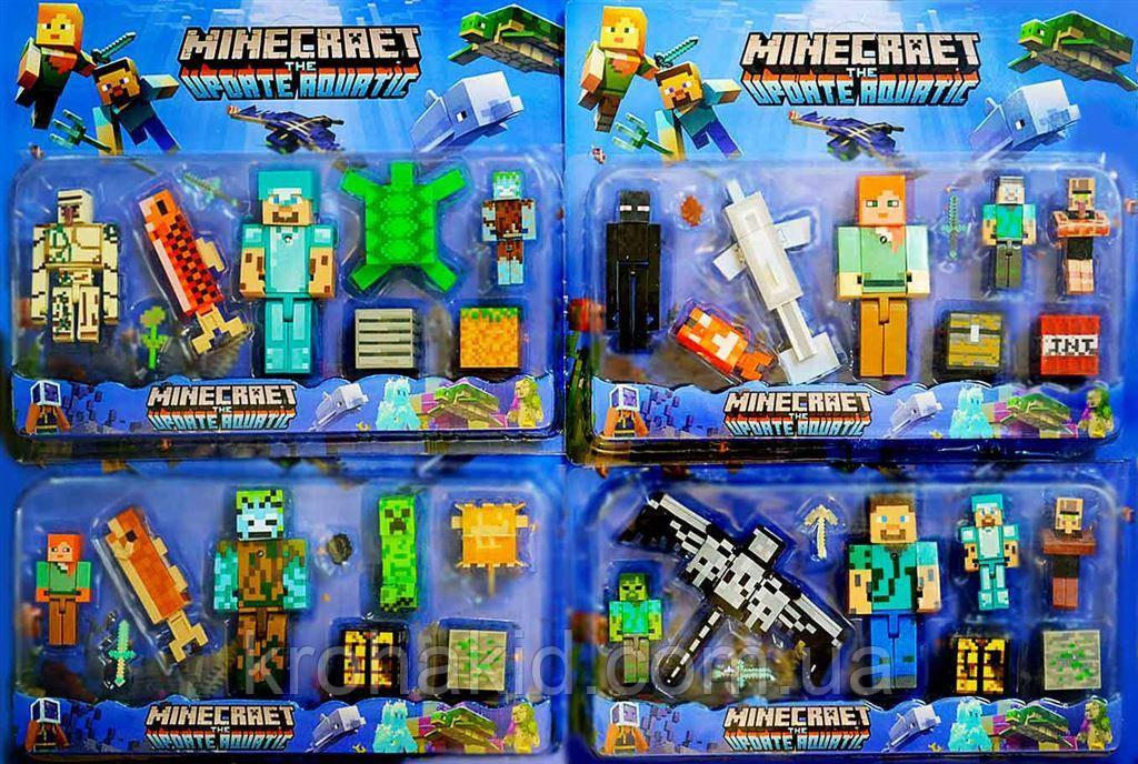 Герои Майнкрафт / Minecraft JL19006-2 - 4 вида