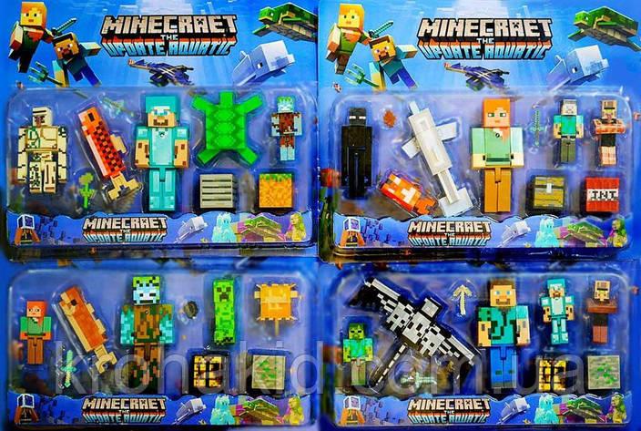 Герои Майнкрафт / Minecraft JL19006-2 - 4 вида, фото 2