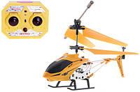 Вертолет аккум р/у 33008 желтый, фото 1
