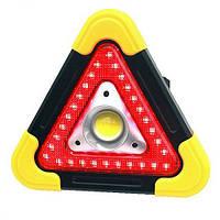 Прожектор светодиодный cob+led(stop), встроенный аккумулятор, зу microusb, солн. бат., power bank