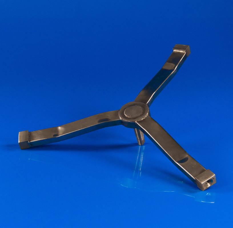 Крестовина барабана для стиральной машины Indesit C00109633 (нержавейка)