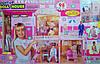 Кукольный домик для Барби Doll House 98 деталей + свет и звук