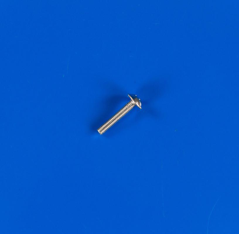 Винт М3х16 оцинкованный с полукруглой головкой и прессшайбой DIN 967