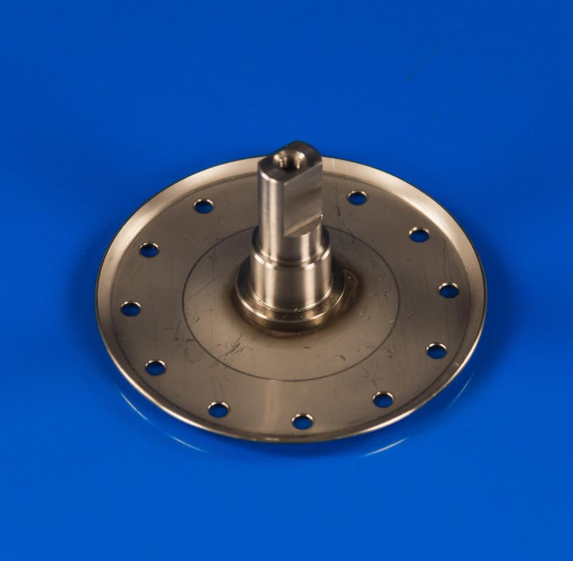 Фланец барабана Electrolux под 203 подшипник ведущий (нержавейка 1,3мм)