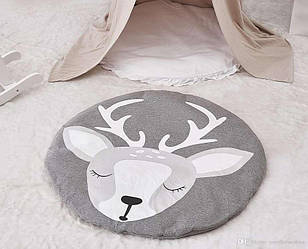 Одеяло коврик в детскую комнату Олененок - 189981