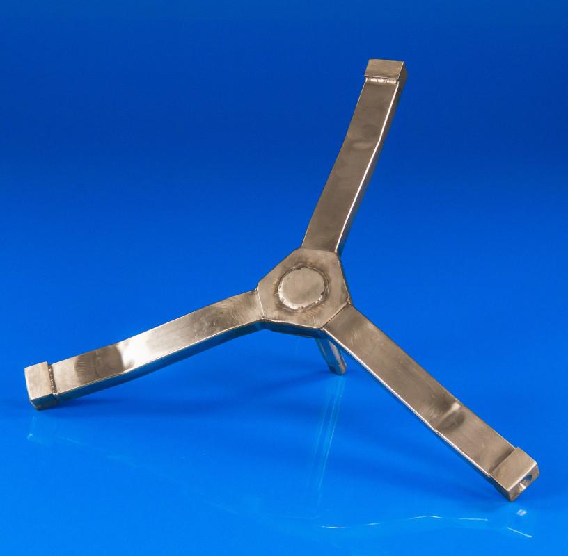 Крестовина барабана для стиральной машины Indesit C00097236 (нержавейка)
