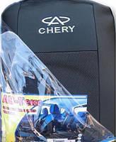 Чехлы на сидения Chery Kimo с 2007+ г.в. Чери КИмо