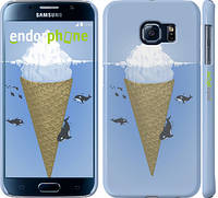"Чехол на Samsung Galaxy S6 G920 Мороженое Айсберг ""2882c-80"""