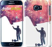 """Чехол на Samsung Galaxy S6 G920 Космический художник """"2880c-80"""""""