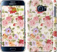 """Чехол на Samsung Galaxy S6 G920 Цветочные обои """"820c-80"""""""
