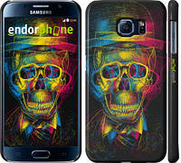 "Чехол на Samsung Galaxy S6 G920 3D скелет ""2868c-80"""