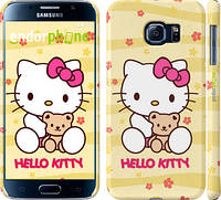 "Чехол на Samsung Galaxy S6 G920 Hello kitty. Yellow ""681c-80"""
