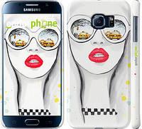 """Чехол на Samsung Galaxy S6 G920 TAXI """"2878c-80"""""""