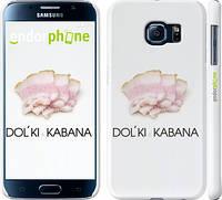 "Чехол на Samsung Galaxy S6 G920 Дольки кабана ""662c-80"""