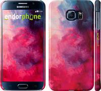 "Чехол на Samsung Galaxy S6 G920 Мазки краски ""2716c-80"""