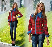 Женская стильная рубашка ДГ586