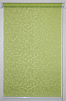 Рулонная штора 700*1500 Акант 2257 Зелёный, фото 1