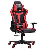 Геймерское кресло VR Racer Dexter Hound черный/красный, TM AMF