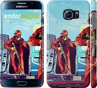 "Чехол на Samsung Galaxy S6 G920 GTA 5. Heroes 4 ""956c-80"""
