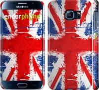 "Чехол на Samsung Galaxy S6 G920 Флаг Великобритании краской ""556c-80"""