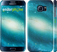 """Чехол на Samsung Galaxy S6 G920 Голубая галактика """"177c-80"""""""