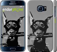 "Чехол на Samsung Galaxy S6 G920 Доберман ""2745c-80"""