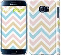 "Чехол на Samsung Galaxy S6 G920 Шеврон v8 ""2821c-80"""