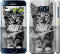"Чехол на Samsung Galaxy S6 G920 Спортивный котик ""2715c-80"""