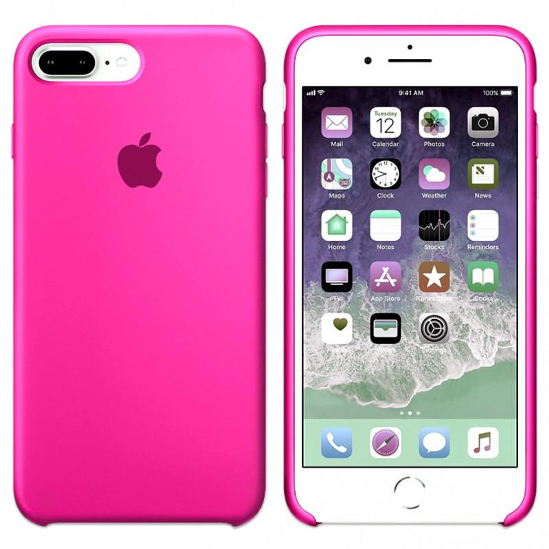 Силиконовый чехол для Apple iPhone 7 Plus / 8 Plus Silicone case (Барби)
