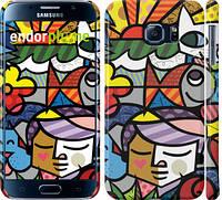 "Чехол на Samsung Galaxy S6 G920 Витраж ""2836c-80"""