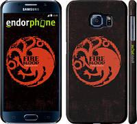 "Чехол на Samsung Galaxy S6 G920 Игра престолов. Targaryen ""1139c-80"""