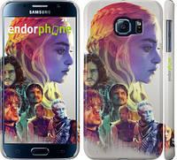"Чехол на Samsung Galaxy S6 G920 Game of thrones art ""2841c-80"""